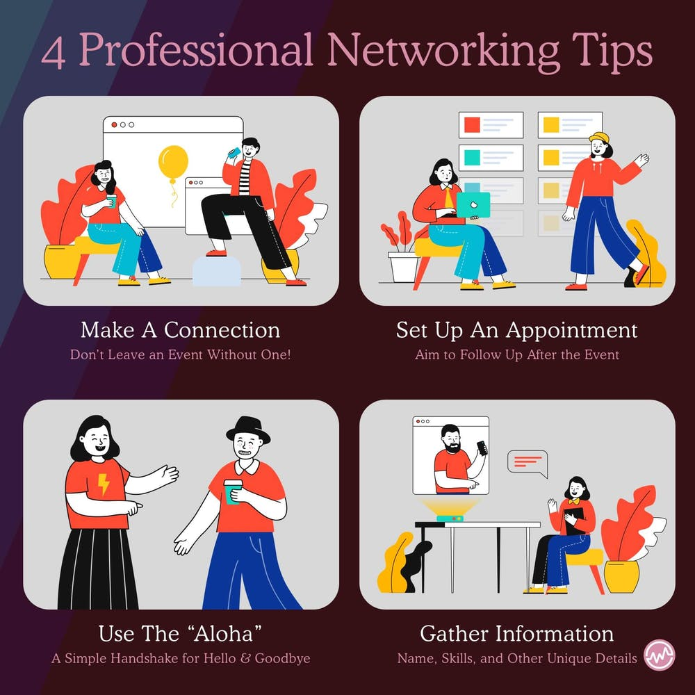 4 professional networking tips