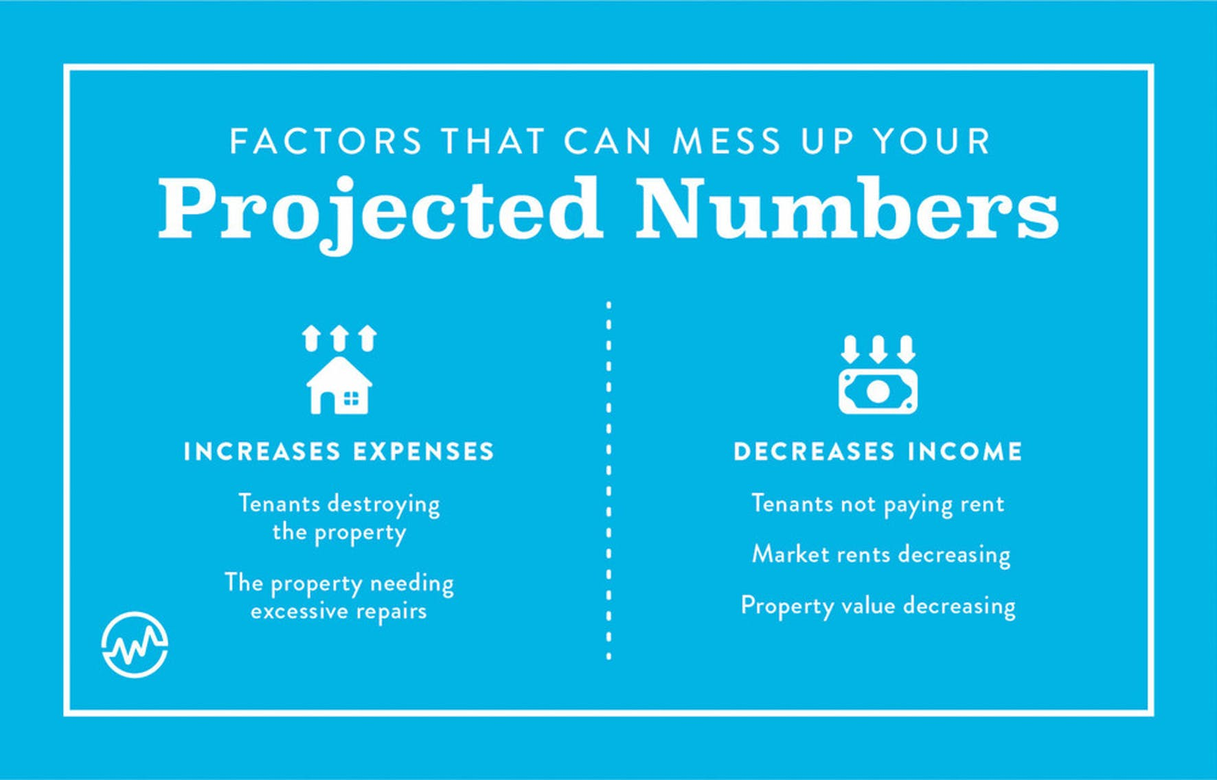 Factors that can mess up your projected numbers for rental property investment