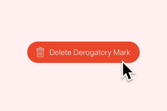 how to use a pay for delete to remove negative marks on your credit report