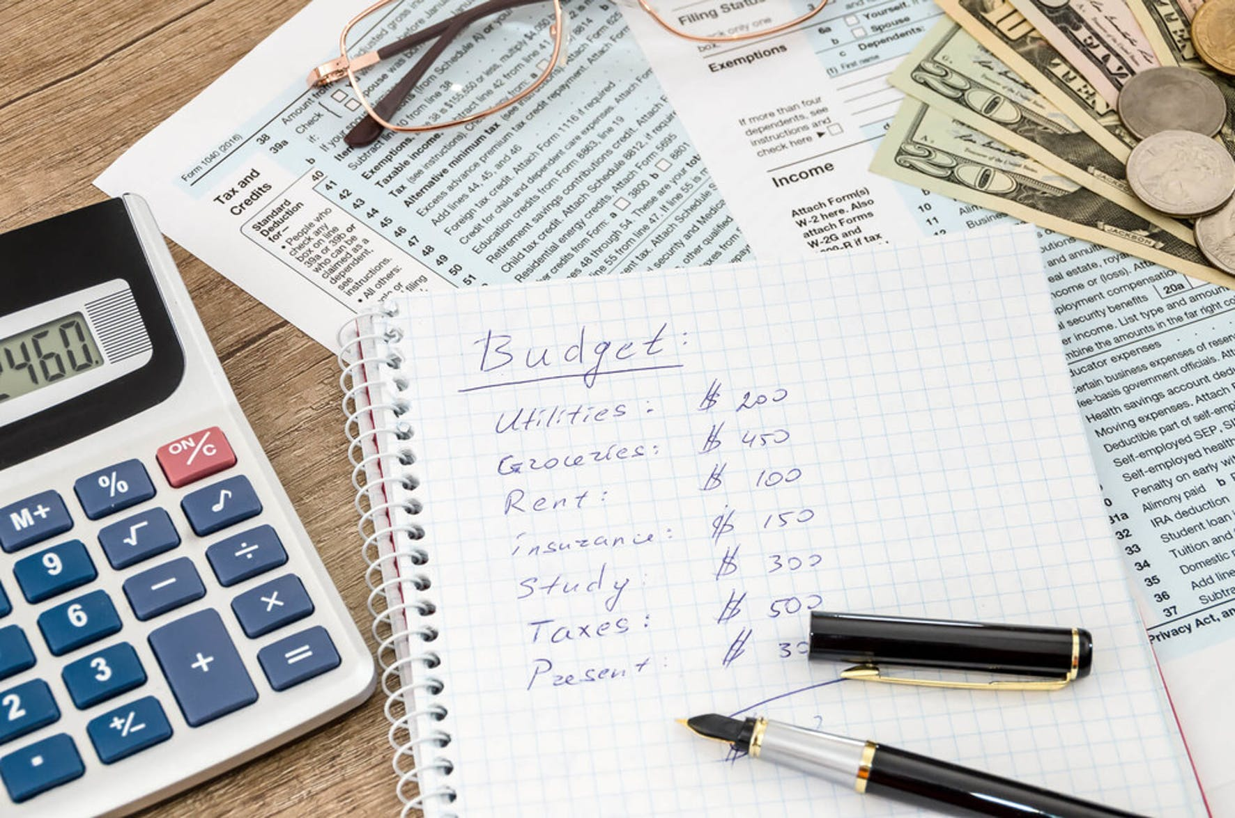 In order to reduce financial stress, you need to create a budget