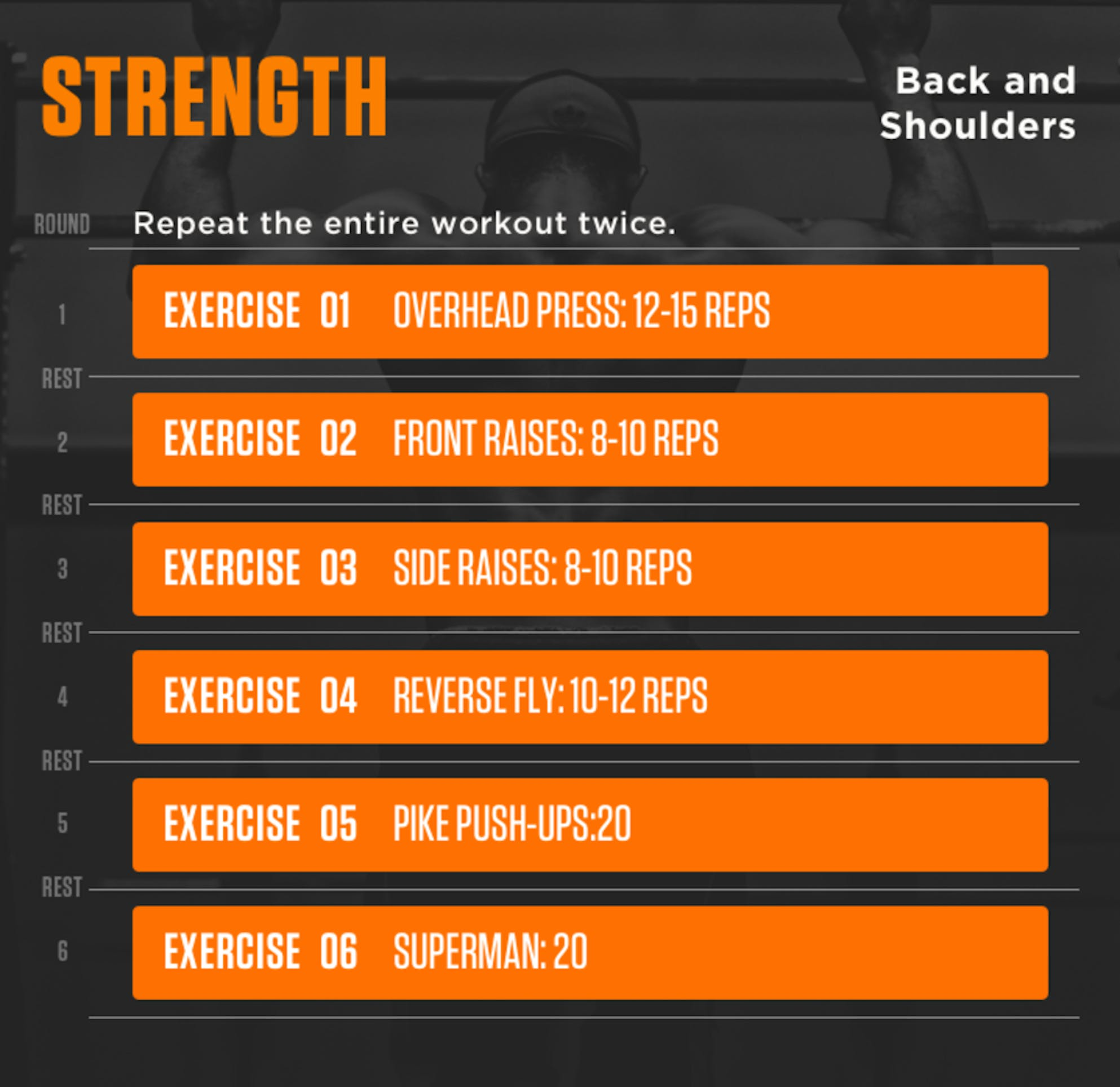 How to create your own workout plan and save money: strength training back and shoulders