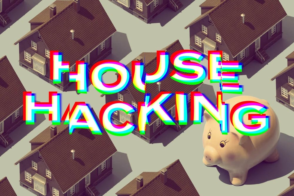 House hacking: another way to invest in real estate with no money and bad credit