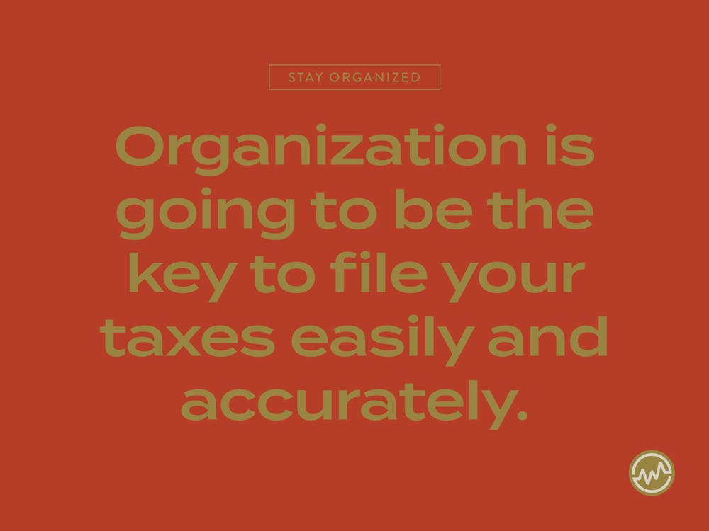 Organization is key for not missing the IRS extension deadline