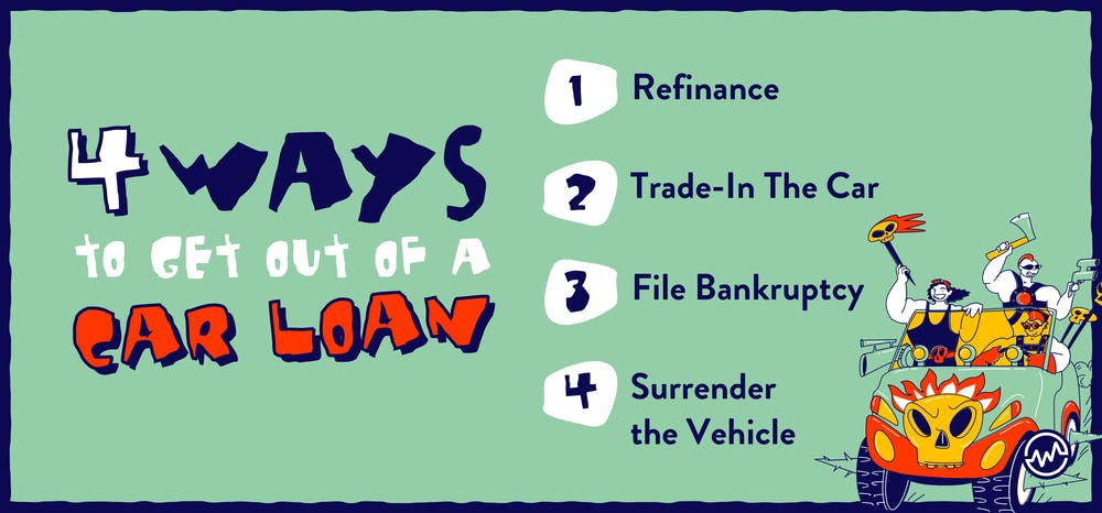 4 ways to get out of a car loan