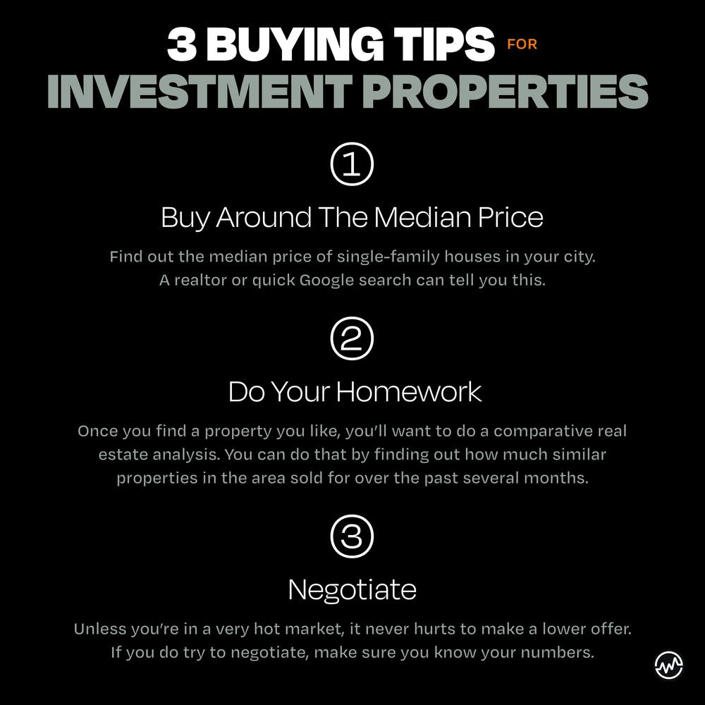 3 Buying Tips for Investment Properties