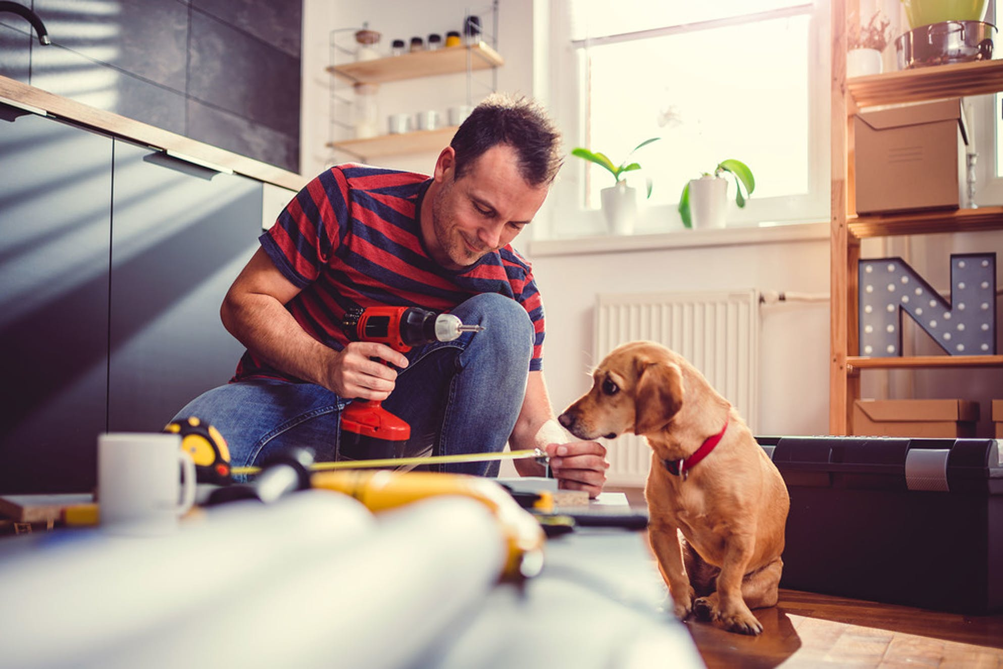 What to do with a tax refund: make home improvements