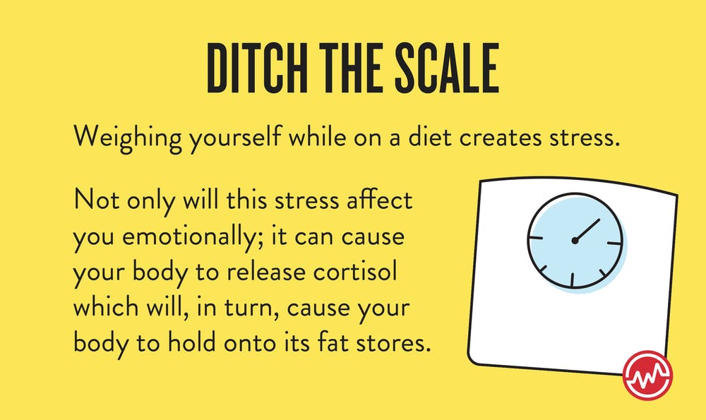 Ditching the scale when on a diet