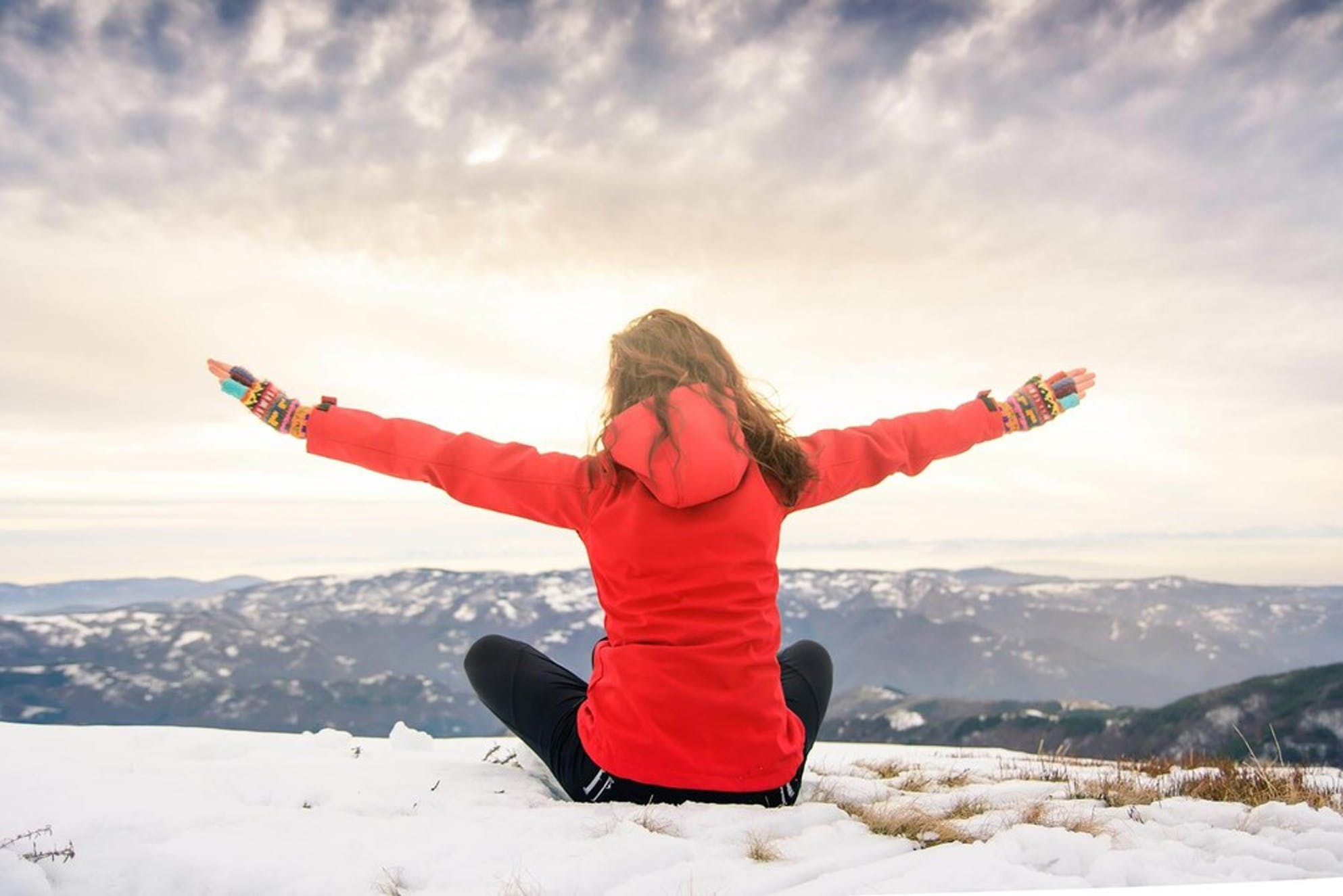 Woman debt free after using the debt snowball strategy.