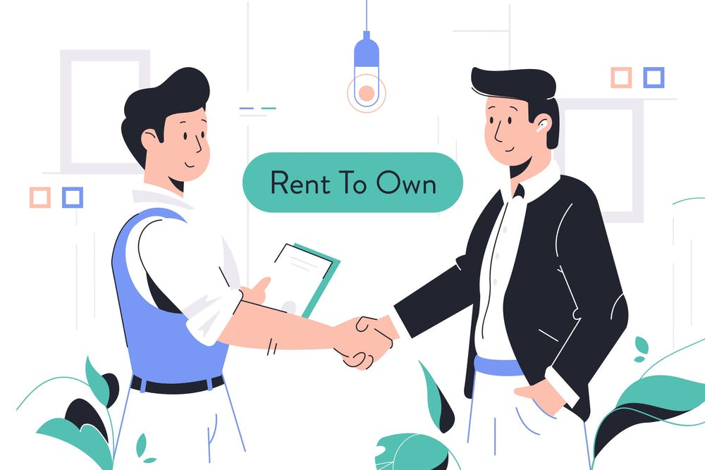 Using the rent to own strategy to invest in real estate with no money and bad credit