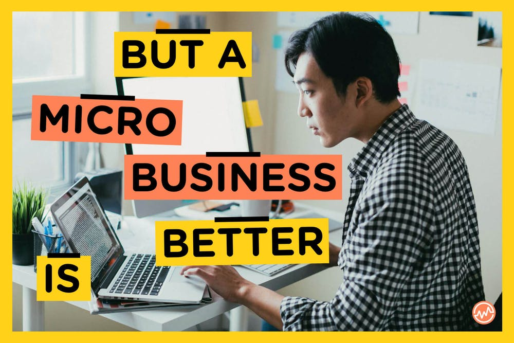 A young entrepreneur looking for micro business ideas to boost his income