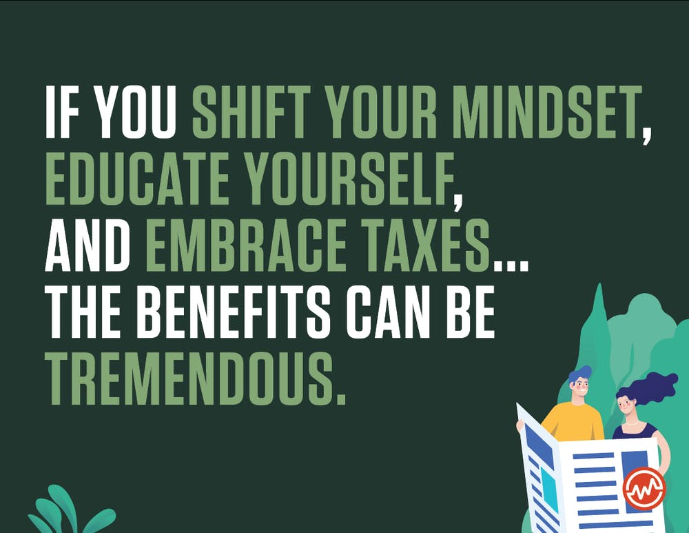 Paying less taxes also means shifting your mindset