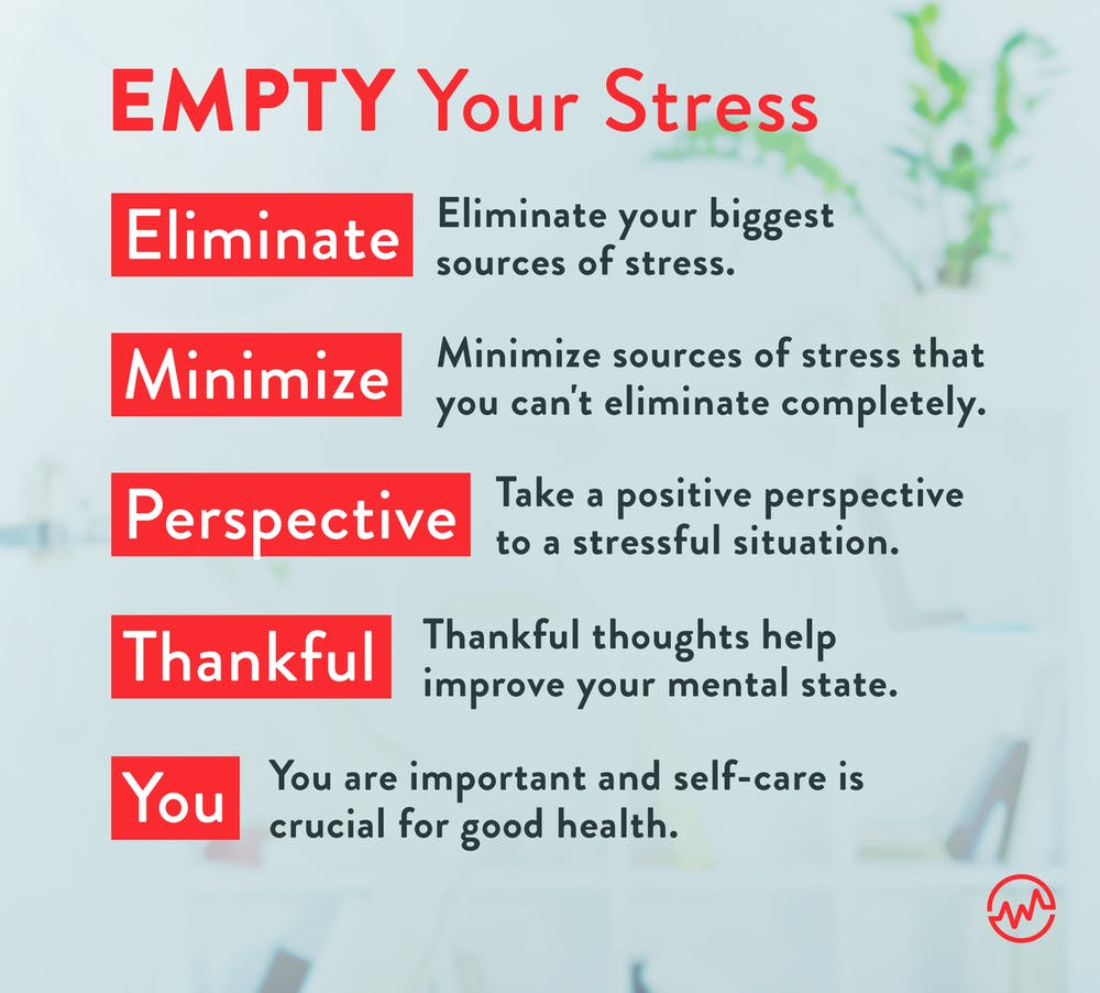 EMPTY your stress