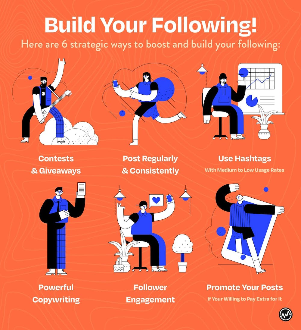 6 ways to build your following on Instagram