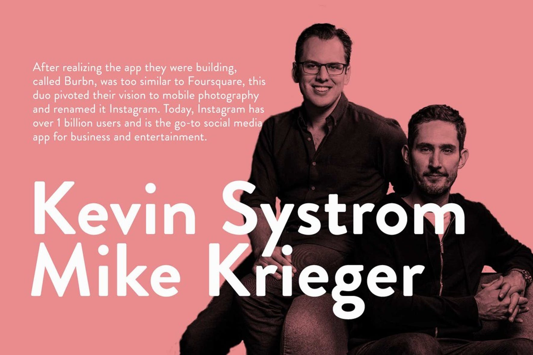 What is a visionary leader? Kevin Systrom and Mike Krieger on being a visionary leader