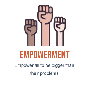 Empowerment - Empower all to be bigger than their problems