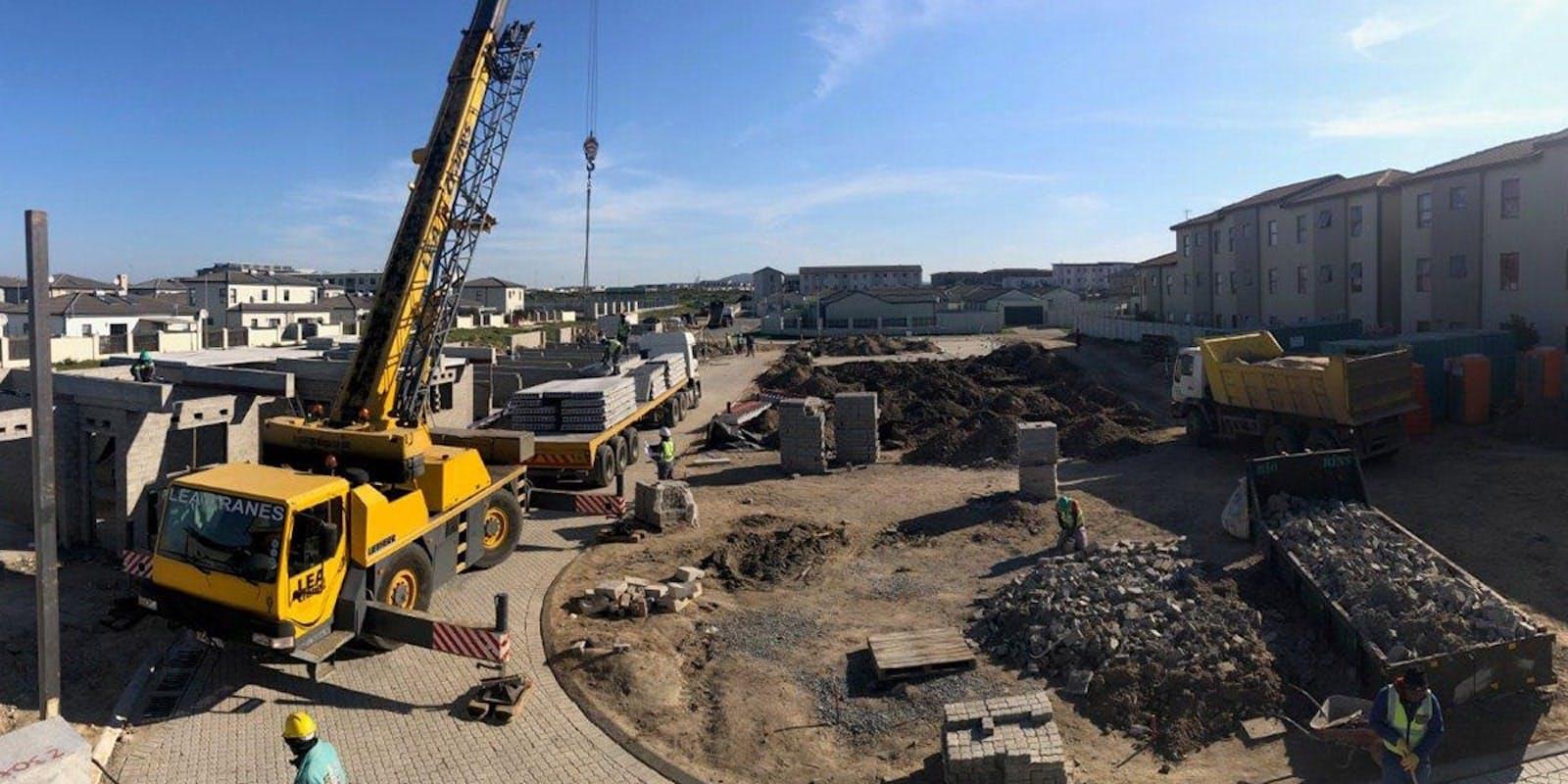 Southwark Village Construction Site