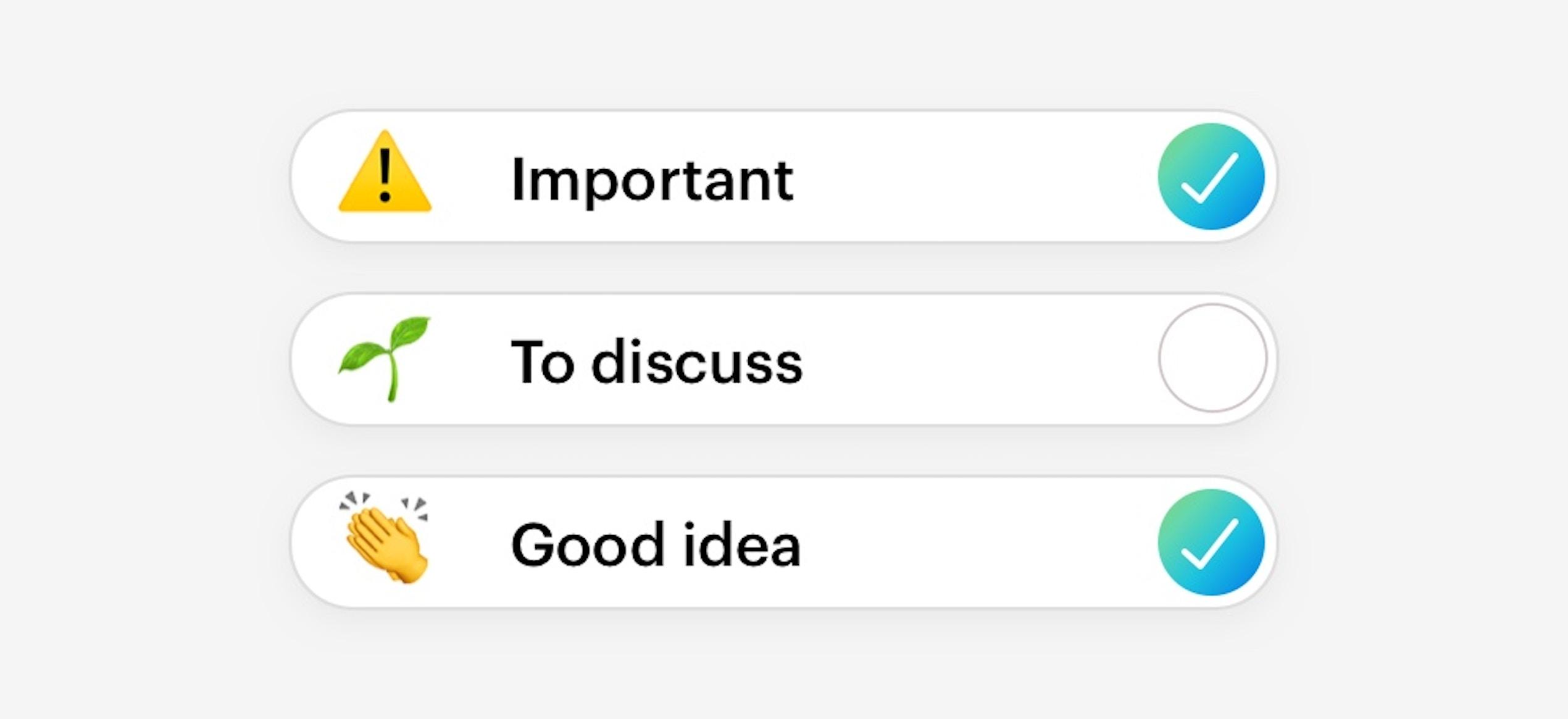 Group, sort, prioritize