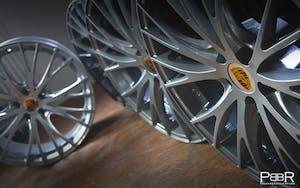 Porsche Macan Turbo RS Spyder Silber