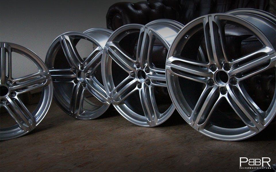 Audi 5 Segmentspeichen chrome mirror