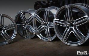 Audi 5-Segment Silber
