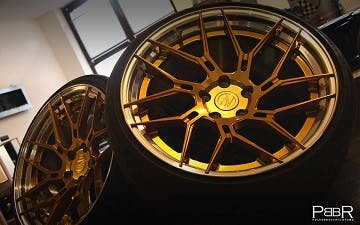 ZP.FORGED 5 Super Deep Concave | royal candy gold / Polished Lip Gold