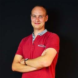Portait Hugo - Chef de projet au sein de l'agence digitale Webqam