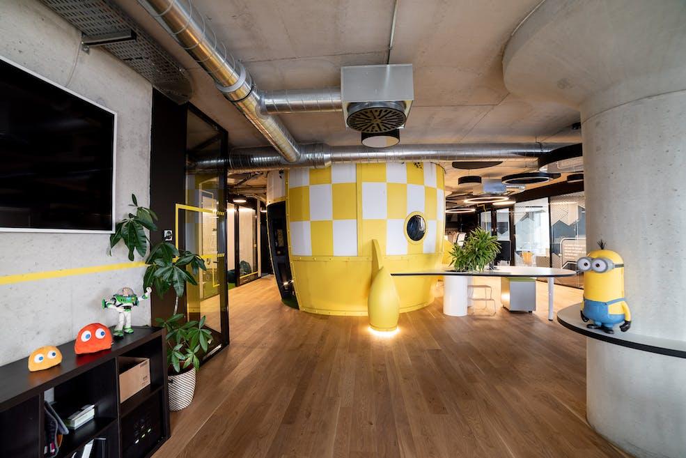 Open Space de l'agence digitale Webqam
