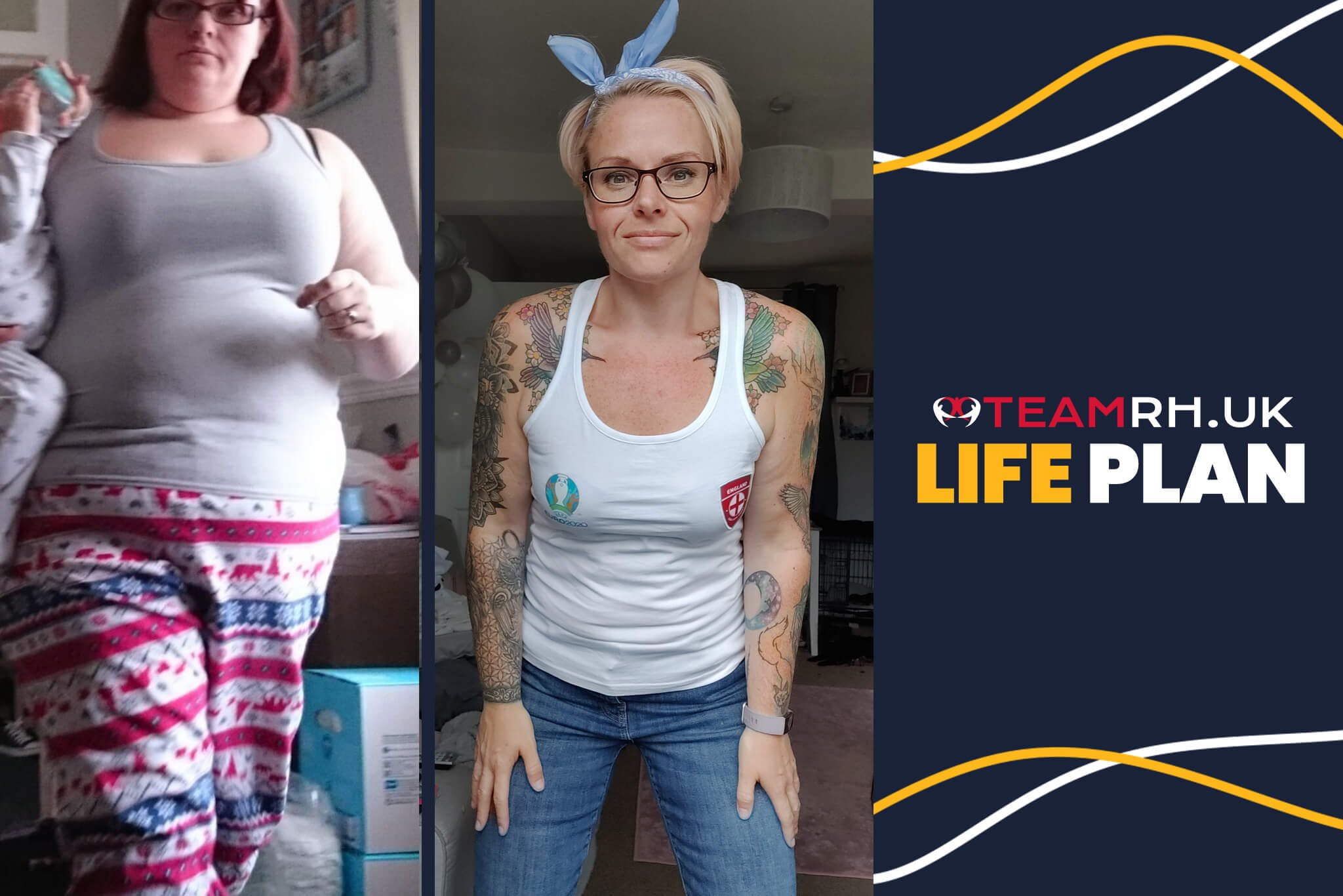 Stacey lost 100lbs and completely changed her life