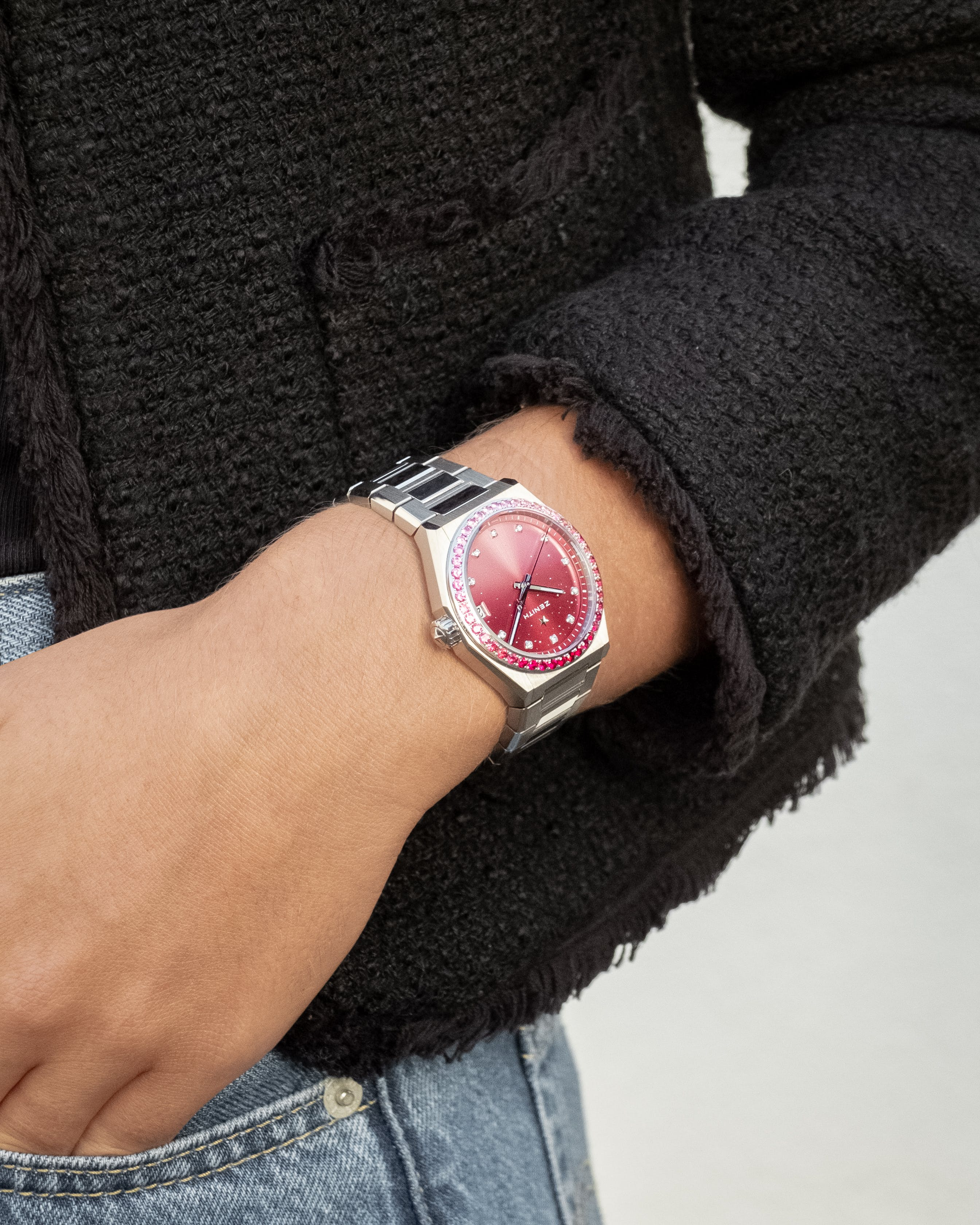ZENITH CONTINUES TO SUPPORT THE GLOBAL MOVEMENT OF BREAST CANCER AWARENESS BY CREATING A UNIQUE DEFY MIDNIGHT FOR PINK RIBBON SWITZERLAND'S ANNUAL CHARITY AUCTION