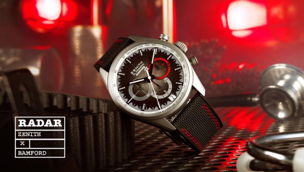 Zenith und Bamford Watch Department bringen die erste Edition heraus, die exklusiv in Boutiquen erhältlich ist