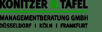 Hier ist das Konitzer & Tafel Logo zu sehen