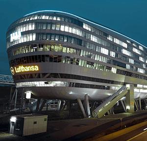 Das Büro im Squaire am Flughafen Frankfurt