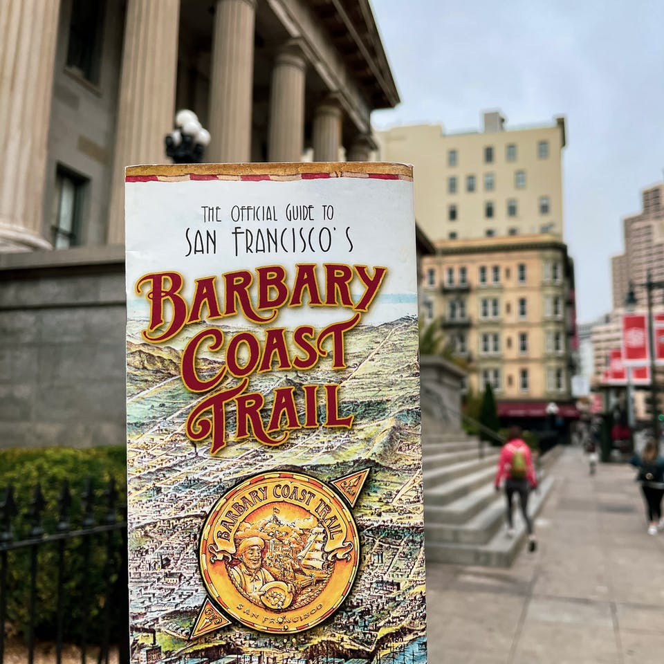 Barbary Coast Trail guide in San Francisco