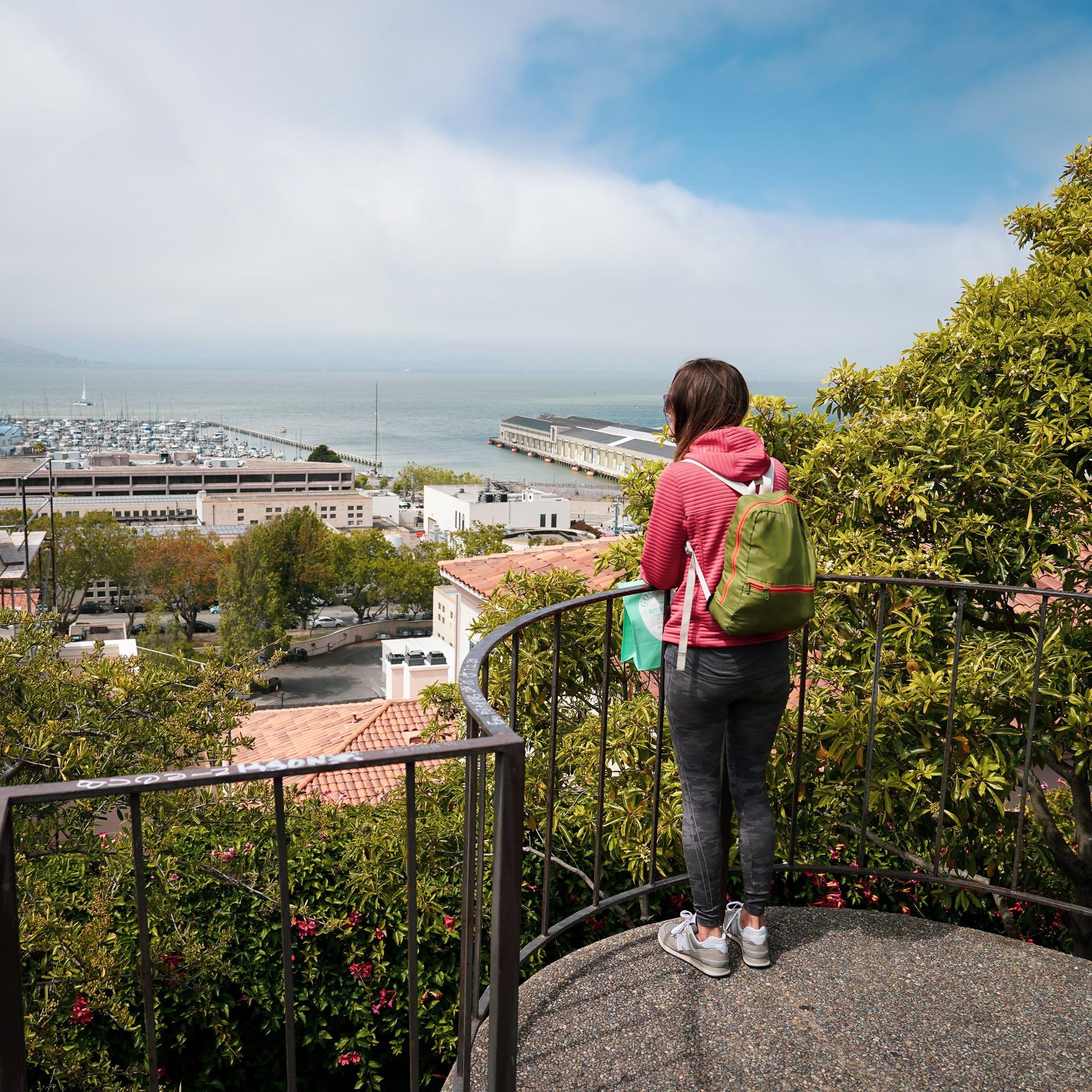 Jack Early Park on Barbary Coast Trail San Francisco