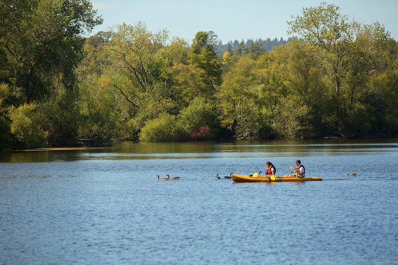 Sonoma County Wellness Outdoors kayaking Spring Lake