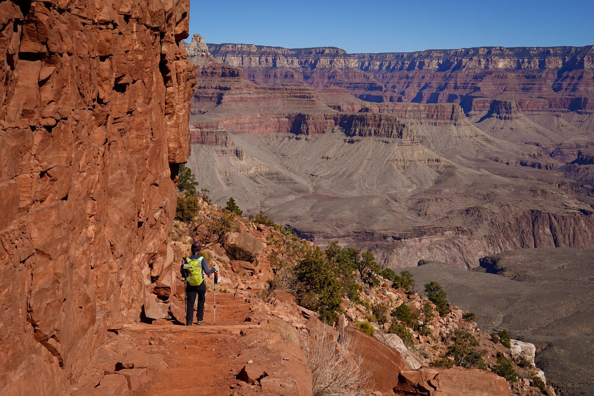 hiking the South Kaibab Trail Grand Canyon
