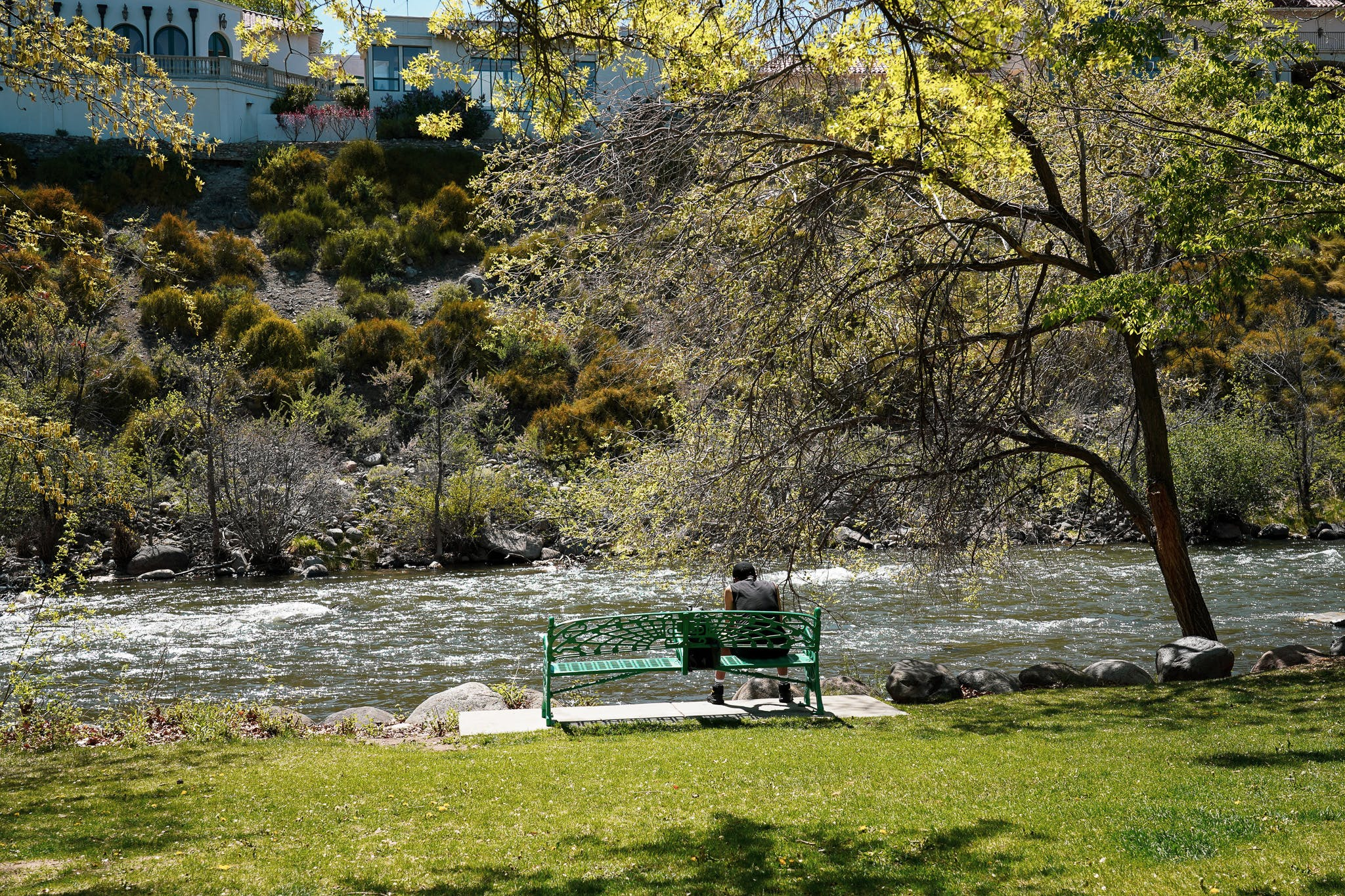 Truckee River in downtown River