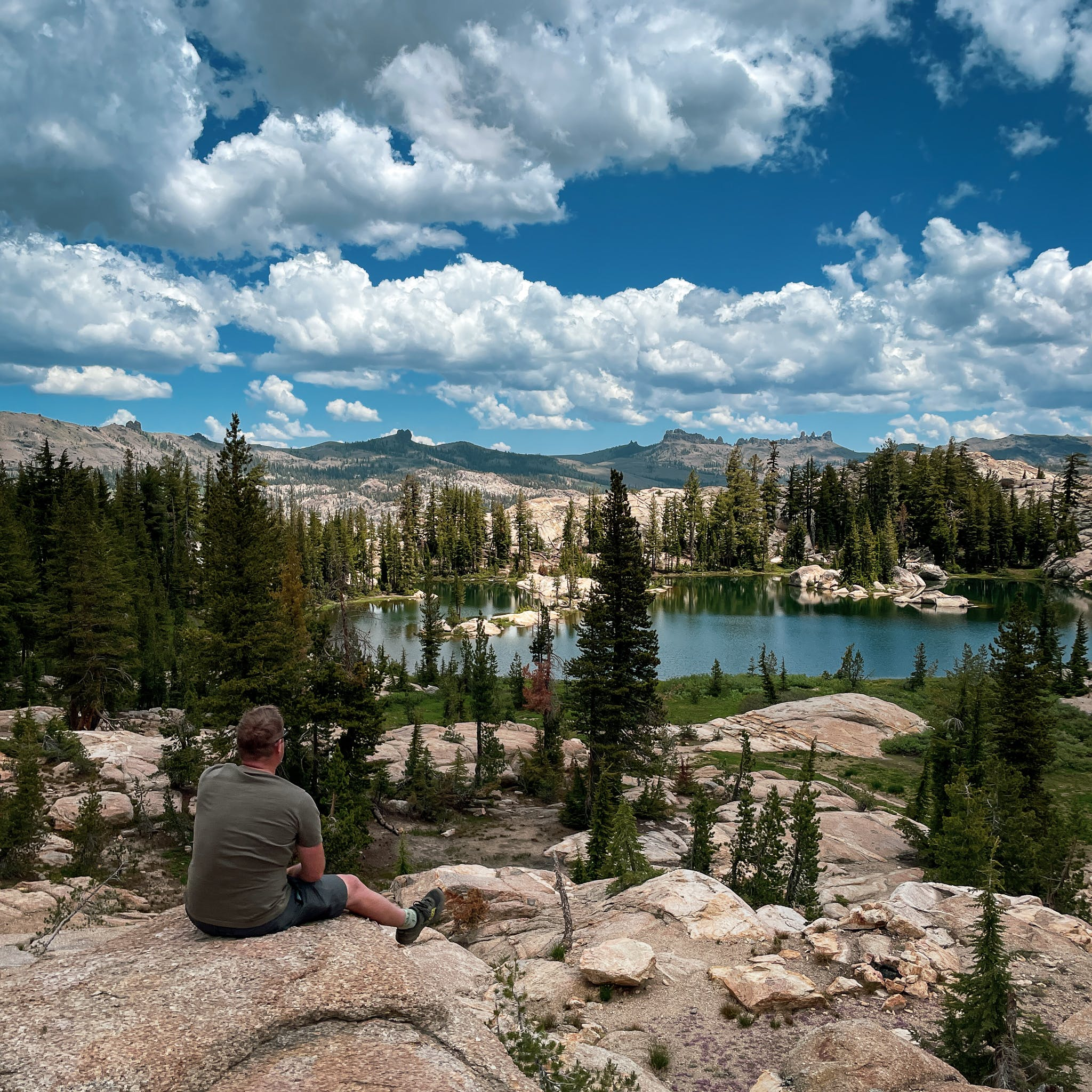 Lake view in the Emigrant Wilderness