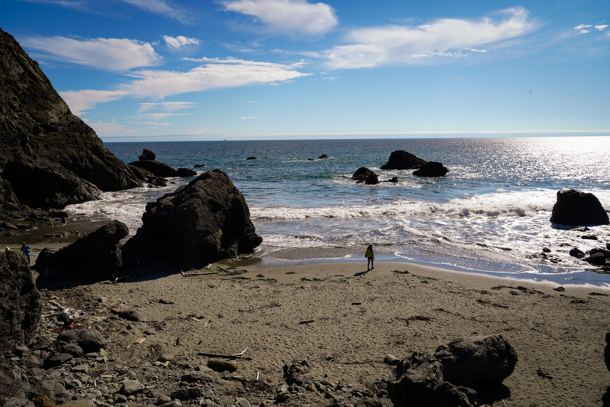 Pirates Cove Beach in the Marin Headlands