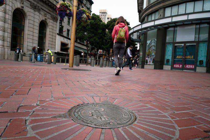 Barbary Coast Trail medallion hike in San Francisco