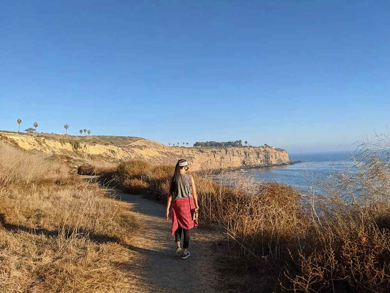 Scenic Hike from Point Fermin Park to Angels Gate Park in Los Angeles