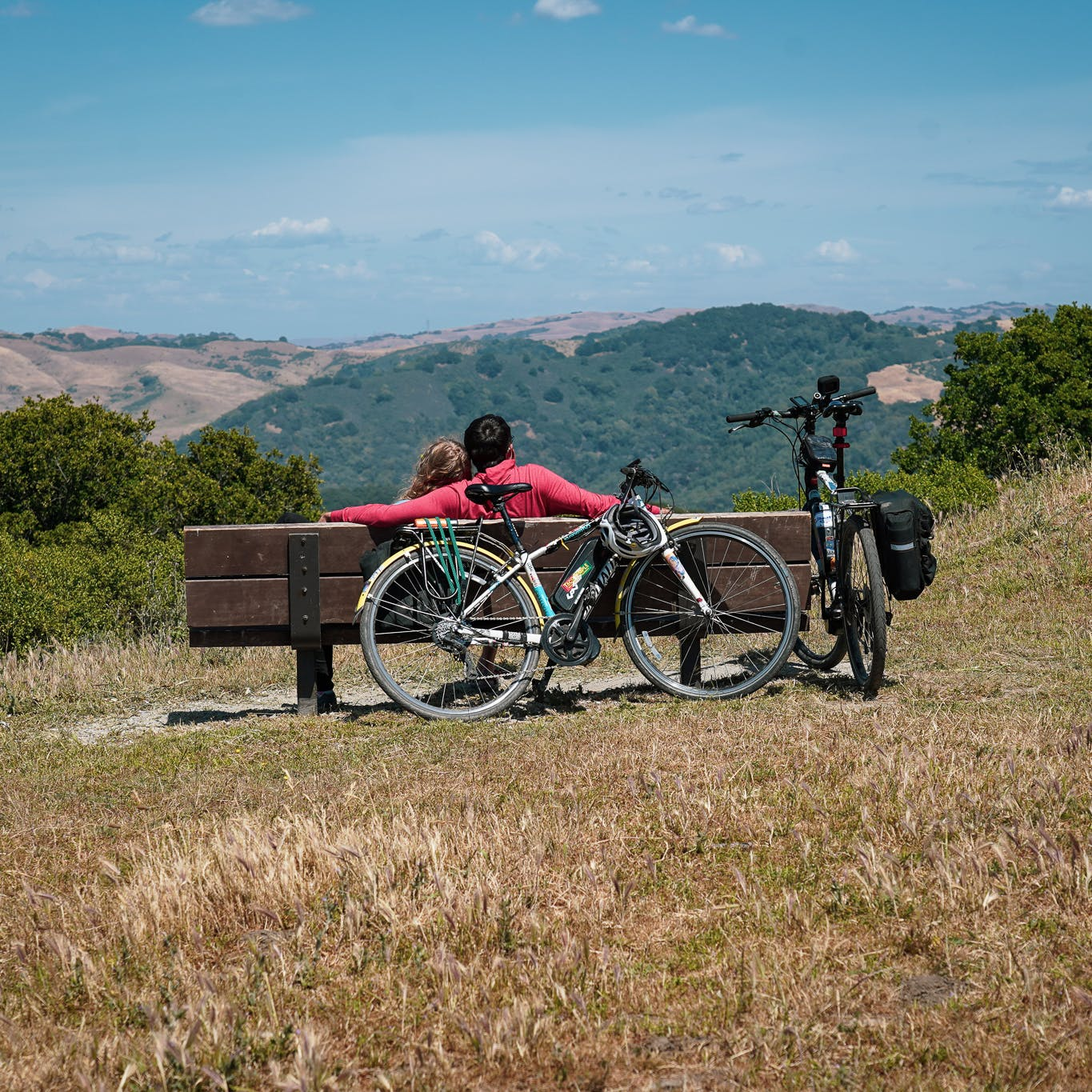 bicycle in Wildcat Canyon