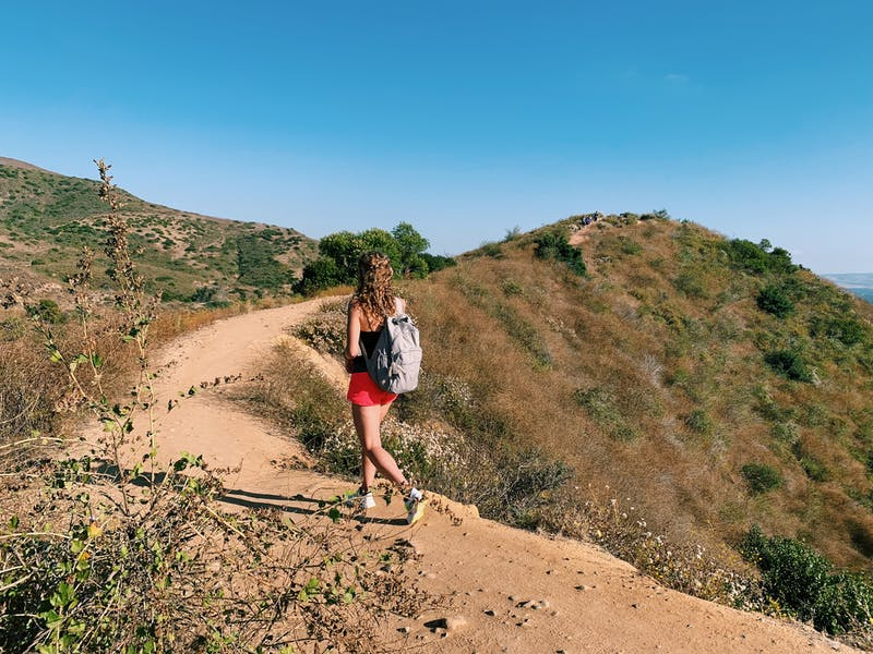 Hike Peters Canyon Regional Park in Orange County.