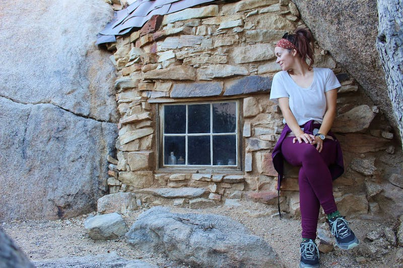 Hiking to Eagle Cliff Mine in Joshua Tree National Park