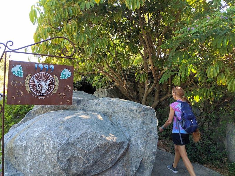 Stone Brewery Hike Escondido