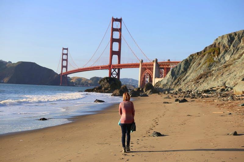 Marshall Beach in San Francisco