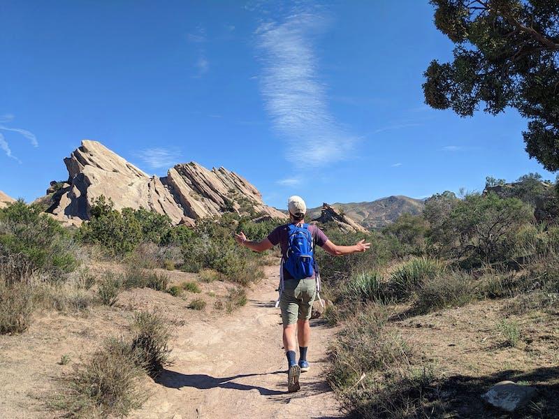 Hike Vasquez Rocks Natural Park Area
