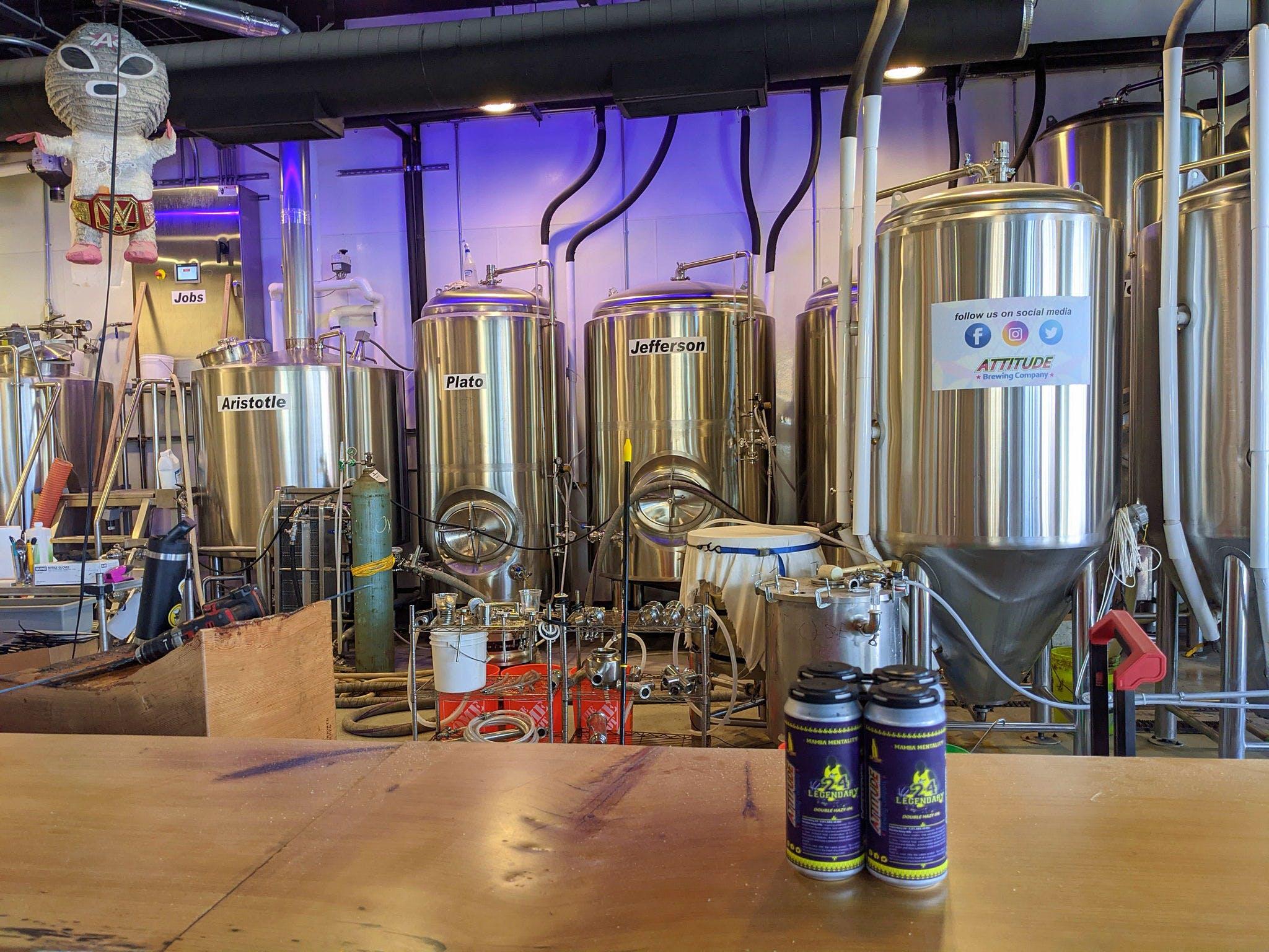 Attitude Brewing Company San Diego