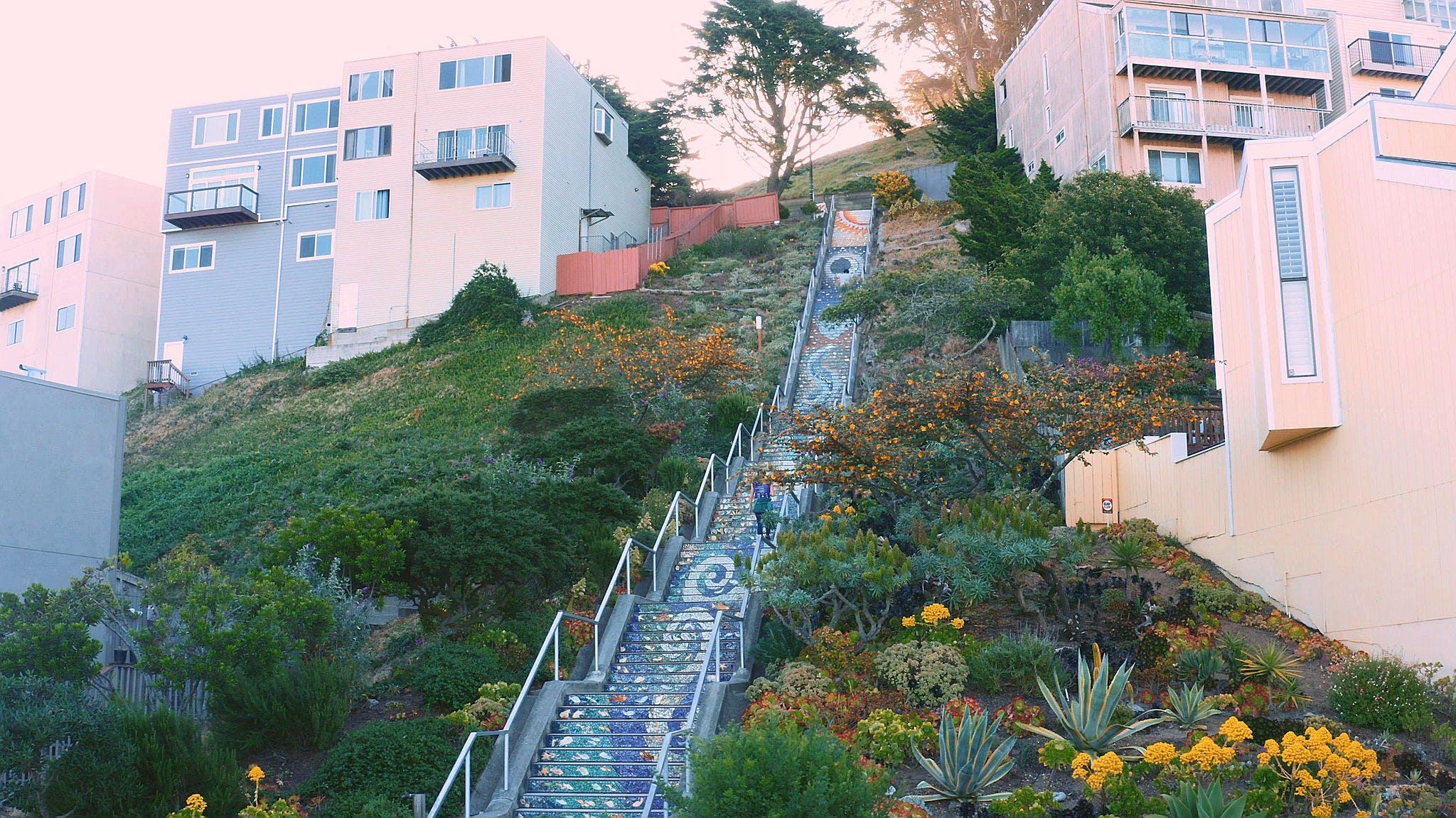 Hidden Stairways of San Francisco Guided Walk
