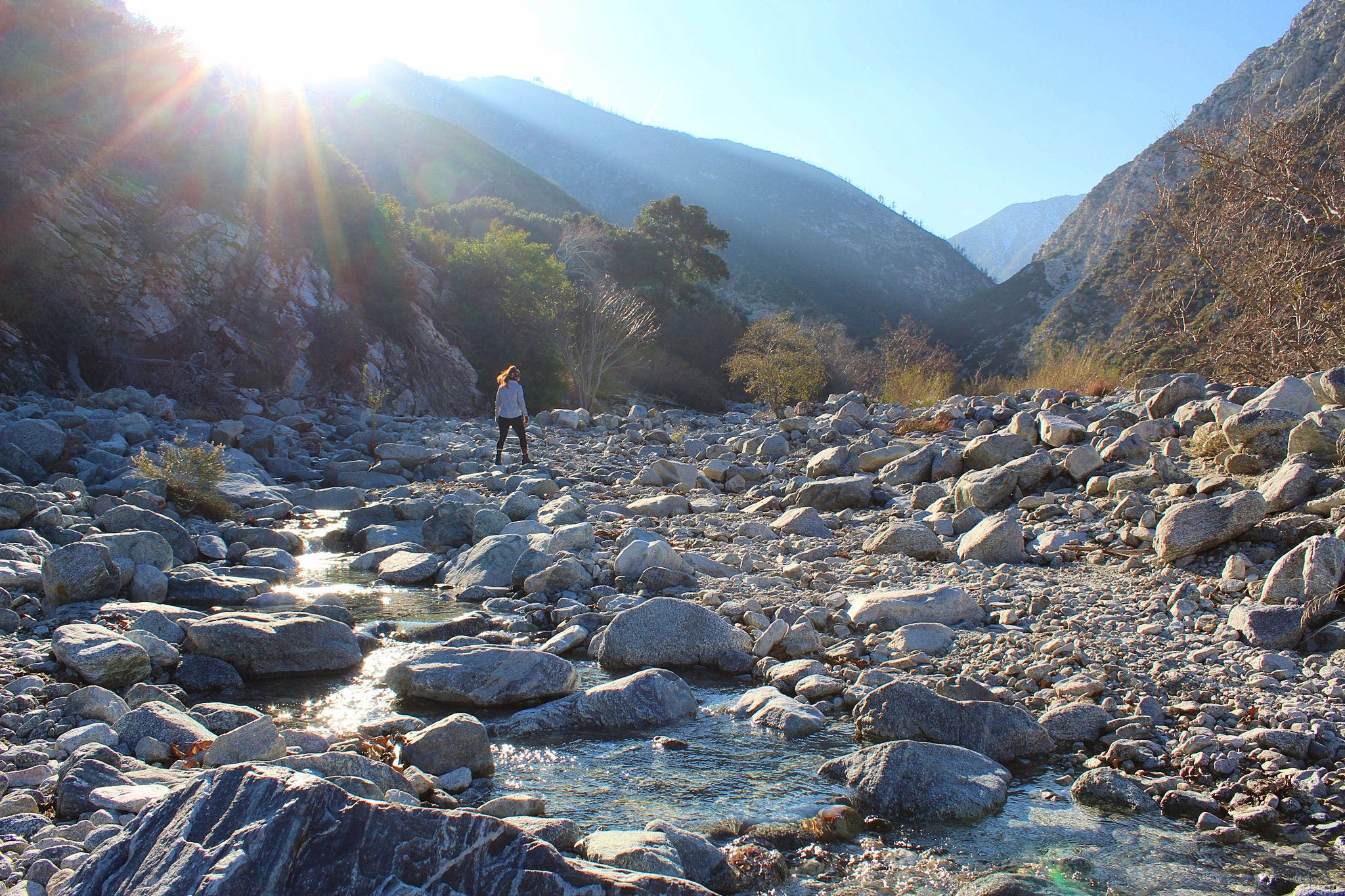 Hike to Bonita Falls in the San Gabriels